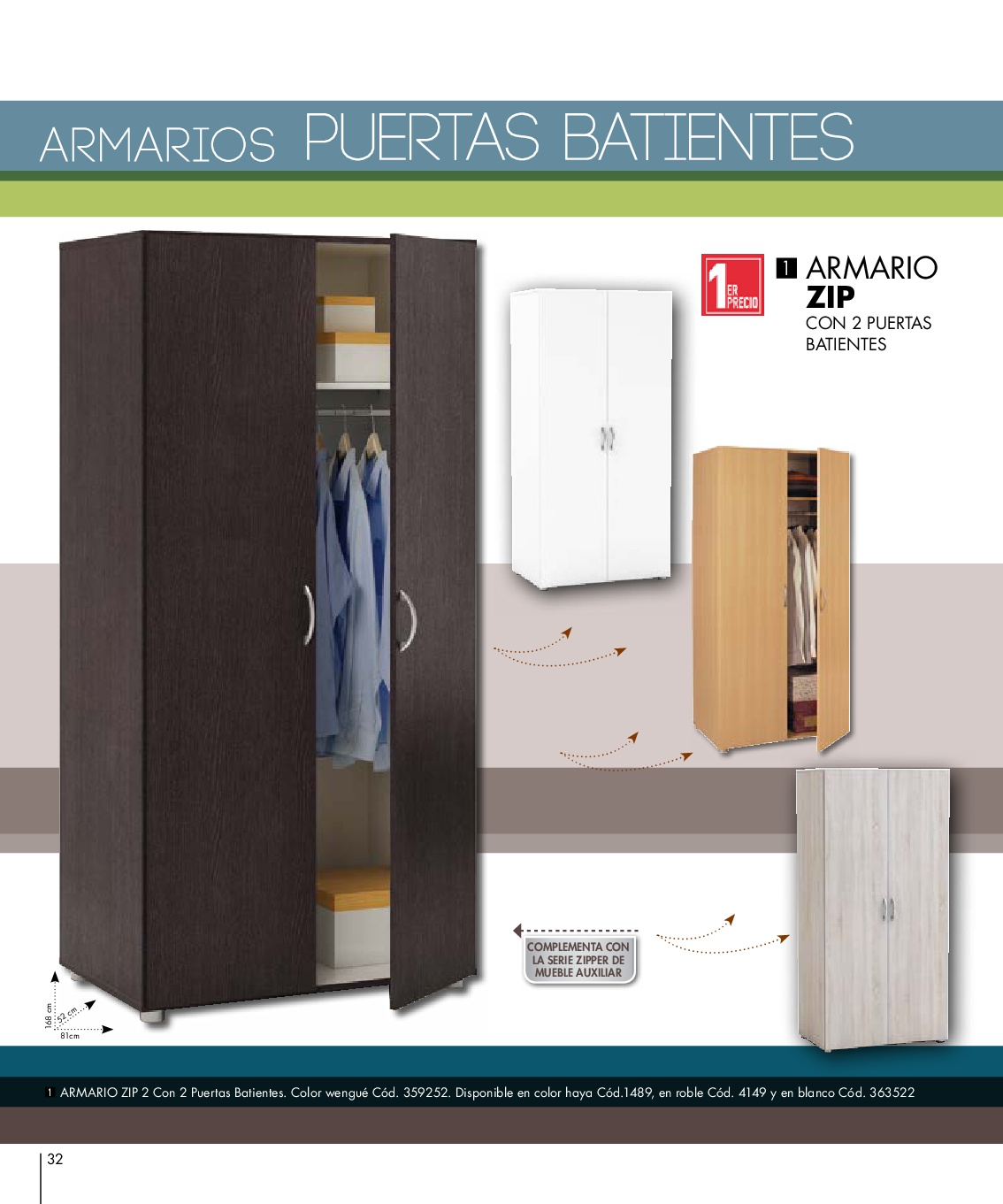 Conforama armarios 201632 for Armario zapatero conforama