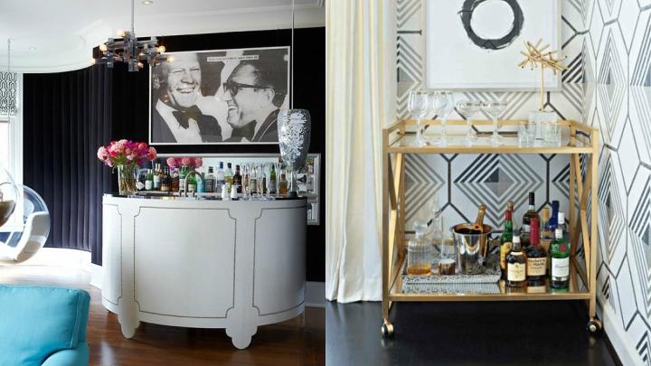Decoracion bar casa mueble