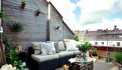 Ideas para terraza atico for Decoracion de terrazas de aticos pequenos