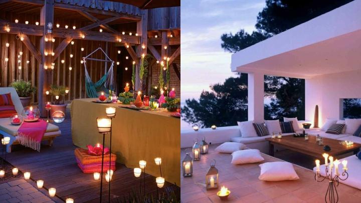 C mo iluminar tu terraza o jard n este verano - Iluminacion terrazas exteriores ...