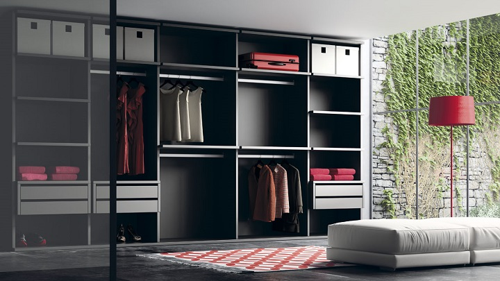 Decorablog revista de decoraci n for Cortinas para puertas de armarios