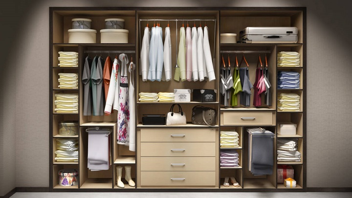 armarios sin puertas ventajas e inconvenientes