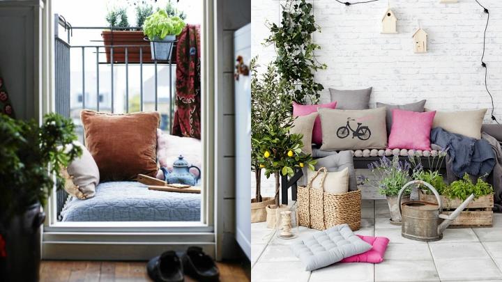 Ideas para aprovechar y decorar balcones peque os - Decoracion balcones pequenos ...