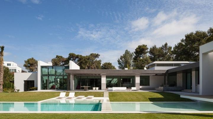 casa con piscina en Cascais 1