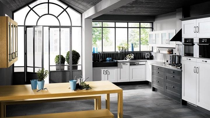 cocina blanco y negro foto4