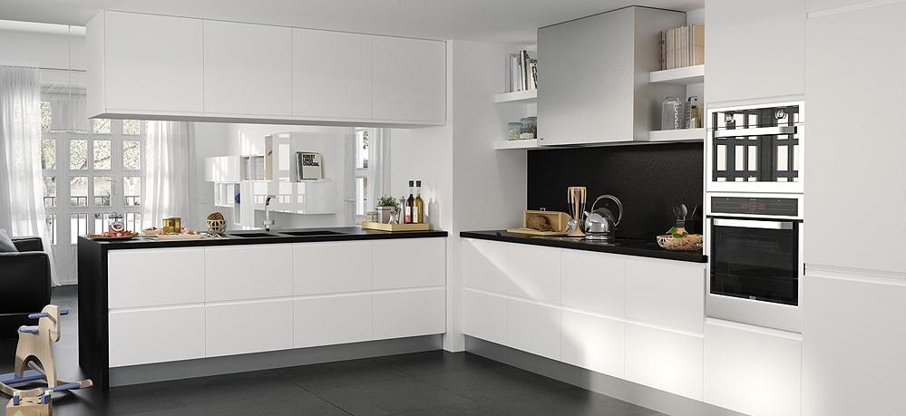 Cocina blanco y negro18 - Cocina blanco y negro ...