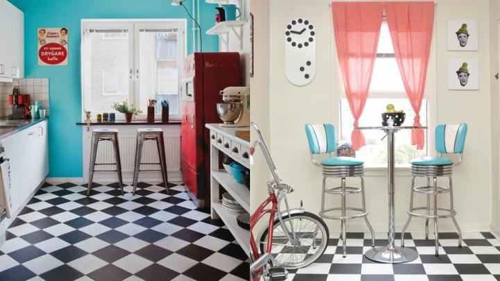 Muebles de cocina estilo retro muebles de cocina estilo - Decoracion retro americana ...
