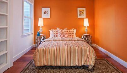 dormitorios naranja foto