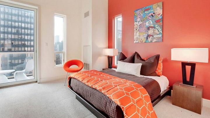 dormitorios naranja foto2