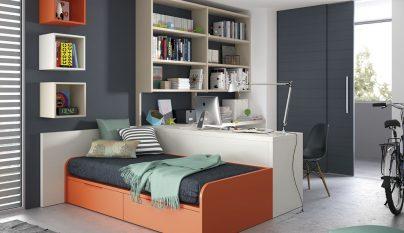 dormitorios naranja32
