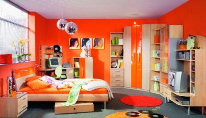 dormitorios naranja35