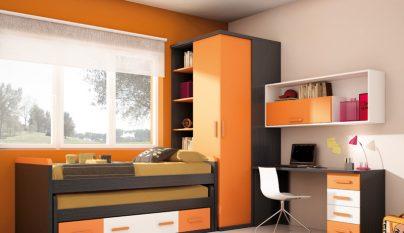 dormitorios naranja36