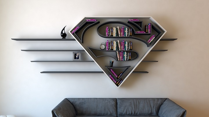estanteria Superman 4