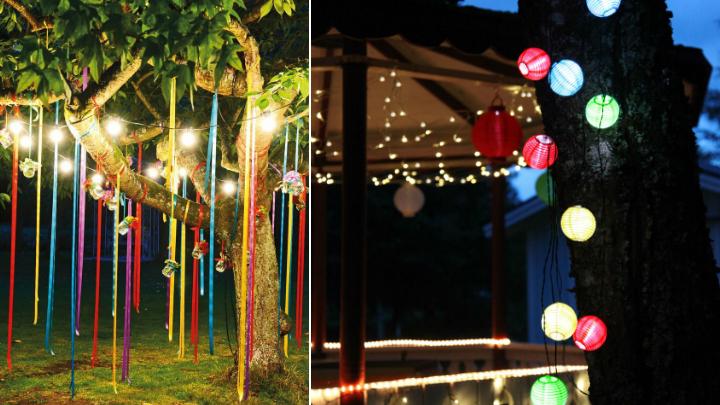 7 ideas de decoraci n para tus fiestas de verano for Decoracion fiesta jardin noche
