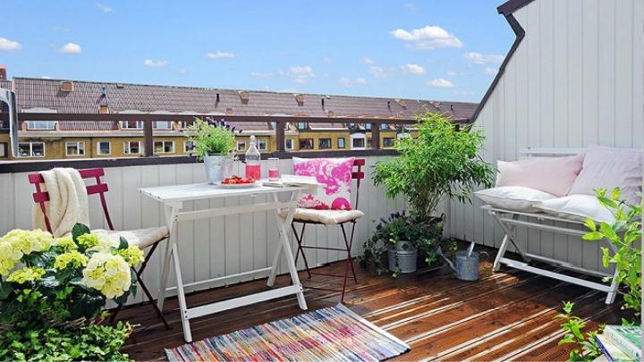 7 ideas para decorar terrazas de áticos