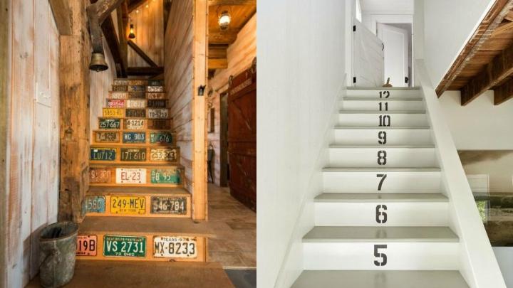 numeros escaleras