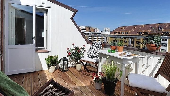 balcones y terrazas de estilo n rdico