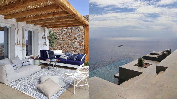 Casa isla Syros exterior