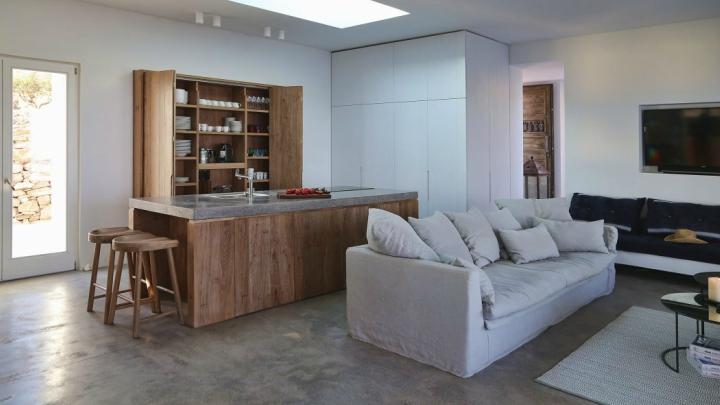 Casa isla Syros salon