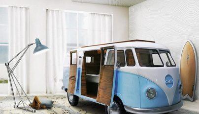 Volkswagen Camper dormitorio 1