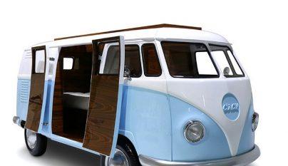 Volkswagen Camper dormitorio 6