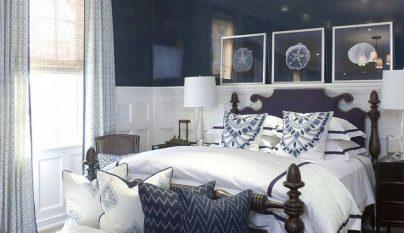 dormitorio blanco azul10