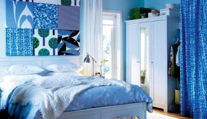 dormitorio blanco azul19
