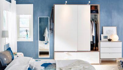 dormitorio blanco azul21
