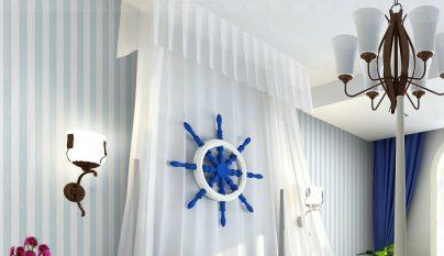 dormitorio blanco azul30