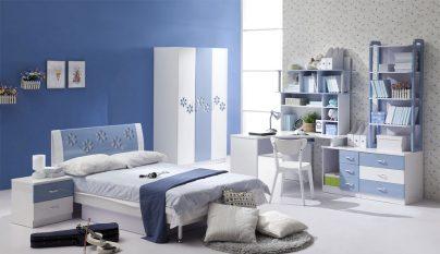 dormitorio blanco azul31