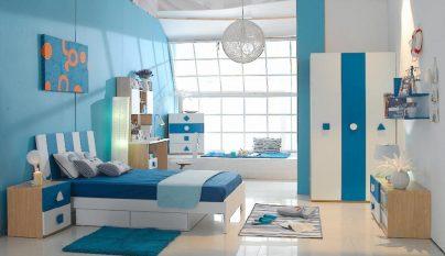 dormitorio blanco azul33