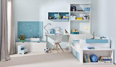 dormitorio blanco azul34
