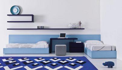 dormitorio blanco azul35