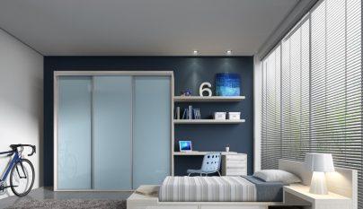 dormitorio blanco azul37