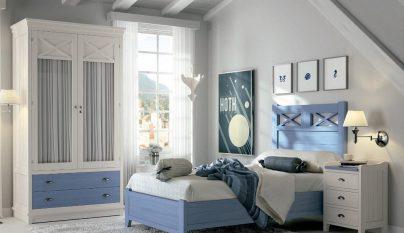 dormitorio blanco azul38