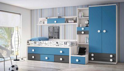 dormitorio blanco azul39