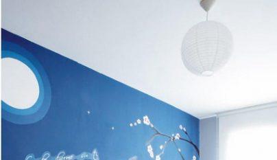 Fotos de dormitorios decorados en blanco y azul - Dormitorio azul y blanco ...