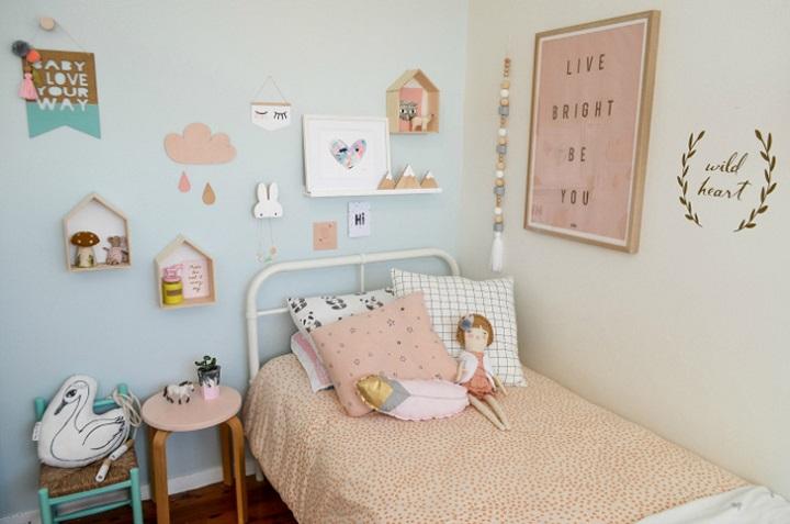 habitacion infantil nordica colores pastel 2