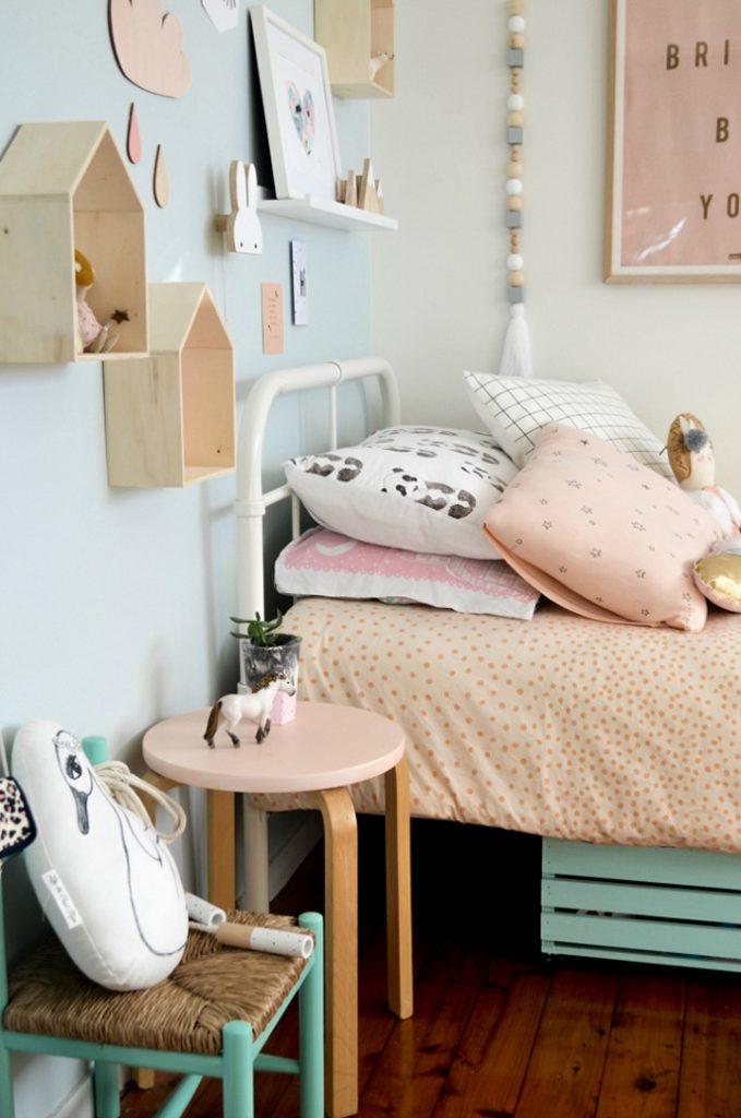habitacion infantil nordica colores pastel 3