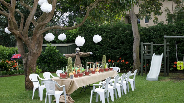 Ideas para una fiesta al aire libre no llegues tarde for Peces para estanques al aire libre