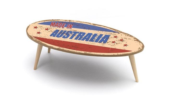 mesa de centro made in Australia