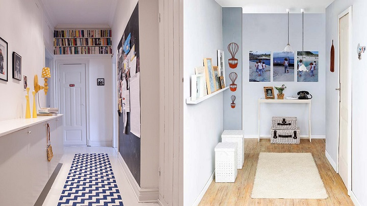 Consejos para decorar recibidores largos y estrechos for Espejos estrechos