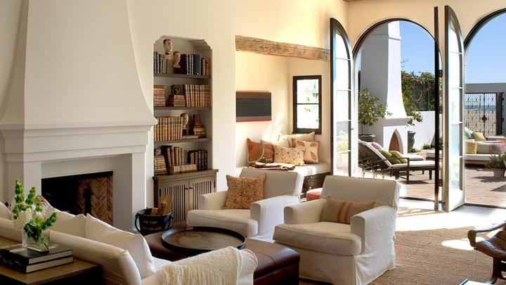 Una casa de pel cula decoraci n de estilo californiano - Casas de peliculas ...