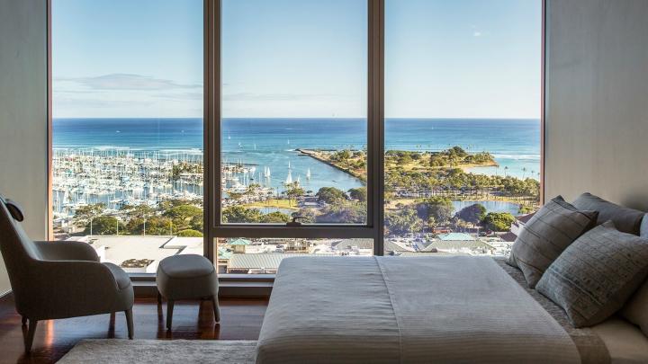 Atico Honolulu dormitorio