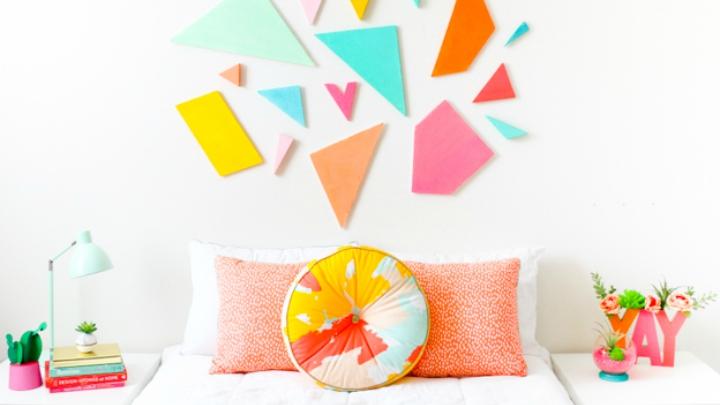 DIY Cabecero geometrico colores2