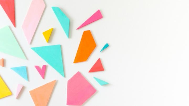 DIY Cabecero geometrico colores3