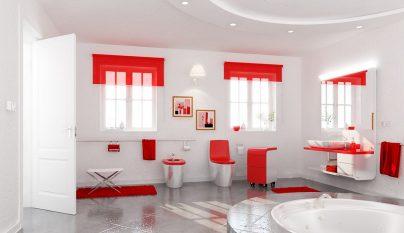 bano rojo11