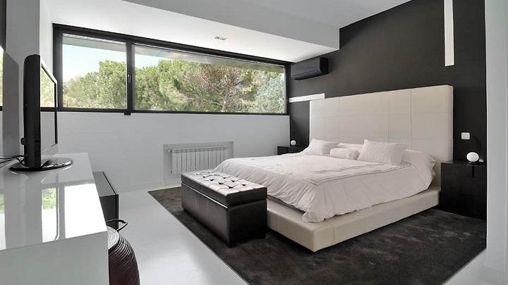 dormitorio blanco y negro foto2