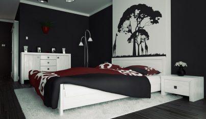dormitorio blanco y negro19