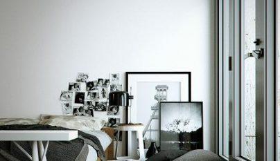 dormitorio blanco y negro21